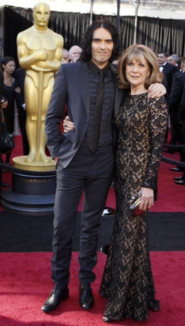 Russell Brand and Barbara