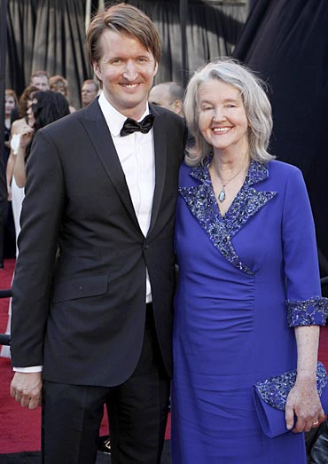 Tom Hooper and Meredith