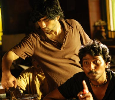 A scene from Aaranya Kaandam