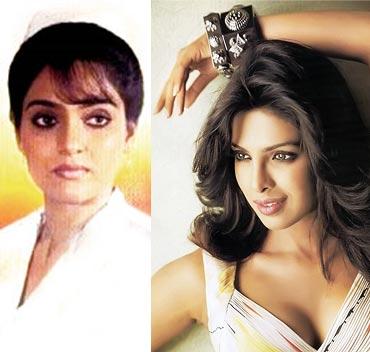 Madhavi and Priyanka Chopra