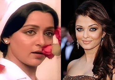 Hema Malini and Aishwarya Rai Bachchan