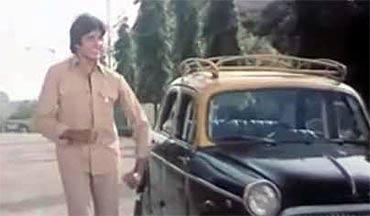Amitabh Bachchan in Khuddar