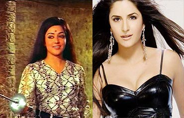 Hema Malini and Katrina Kaif
